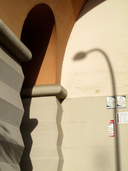 Shadow and doorway, Rome, Italy