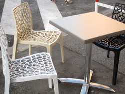 Table and chairs, Rome, Italy