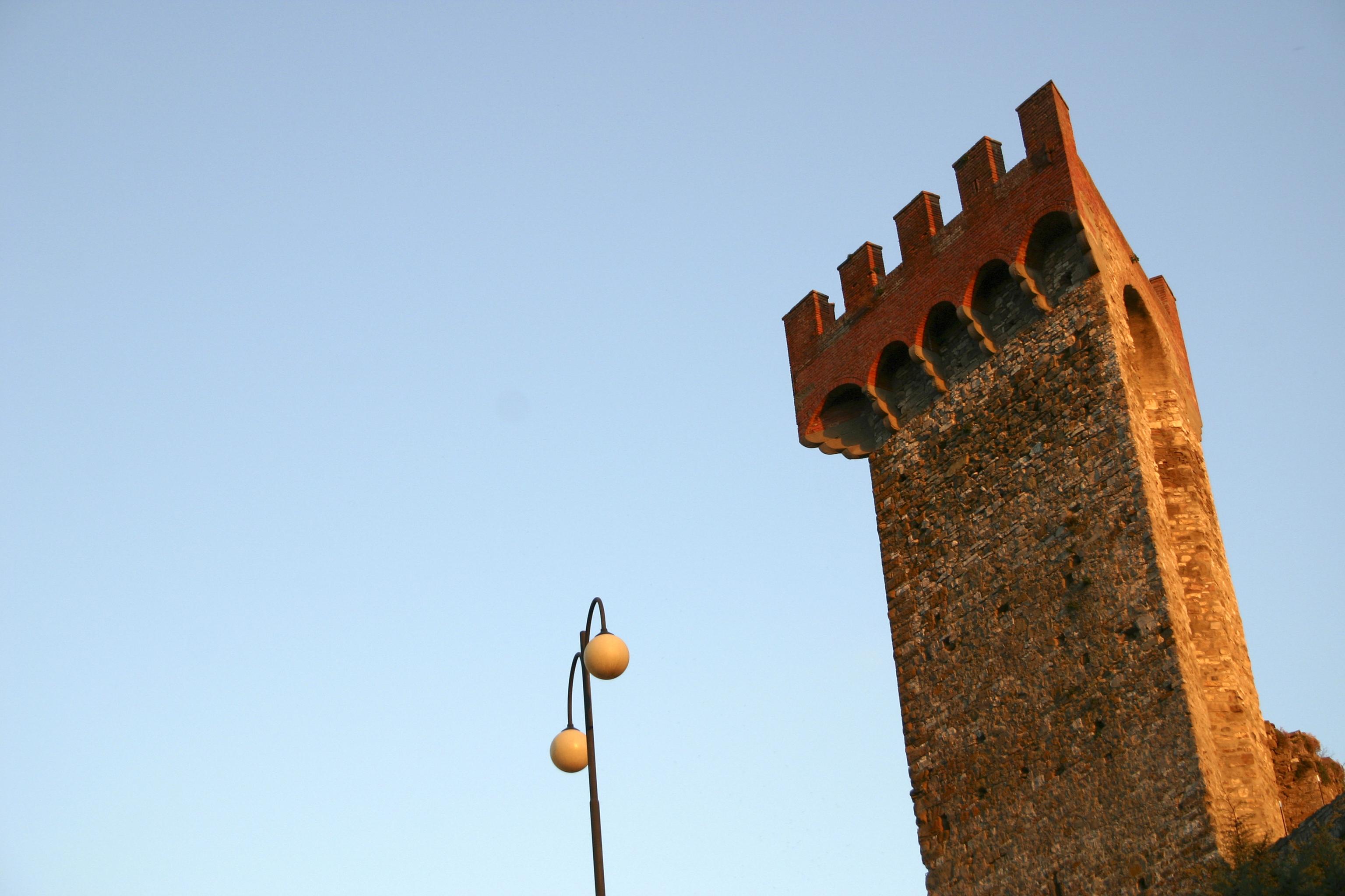 Light and Tower, Tresemeno, Italy