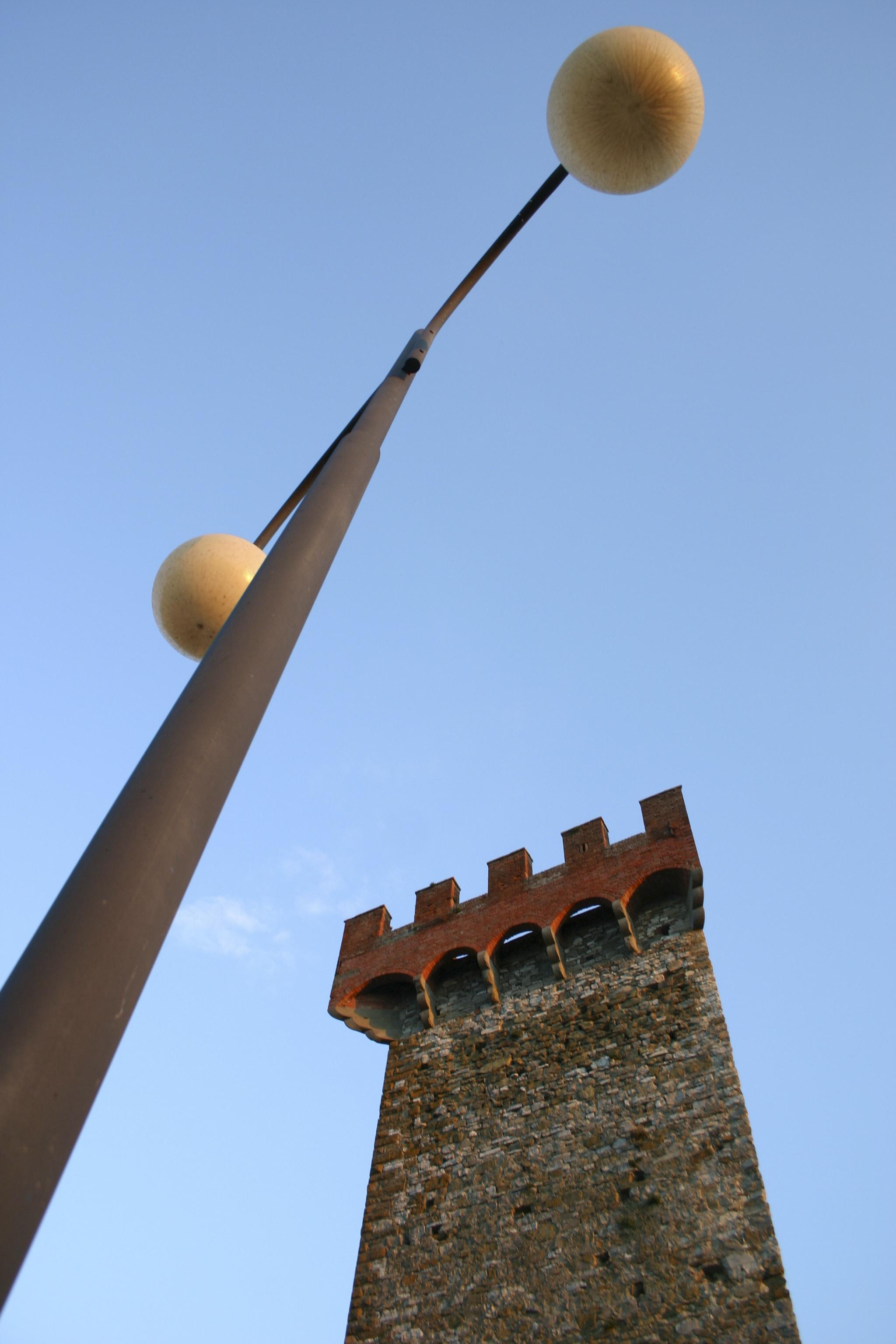 Tower, Tresemeno, Italy