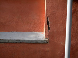 Wall and pipe, Rome, Italy
