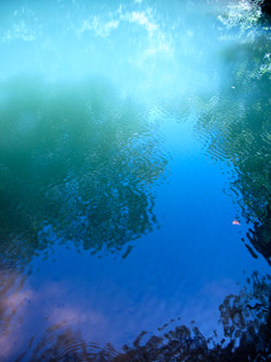 Sky and water, Crystal Bridges