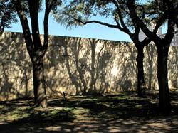 Wall shadows, San Antonio, Texas