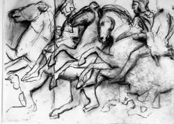 Parthenon procession of horses
