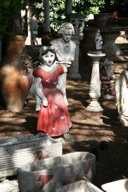 Snow White/ JS Bach, Paestum, Italy