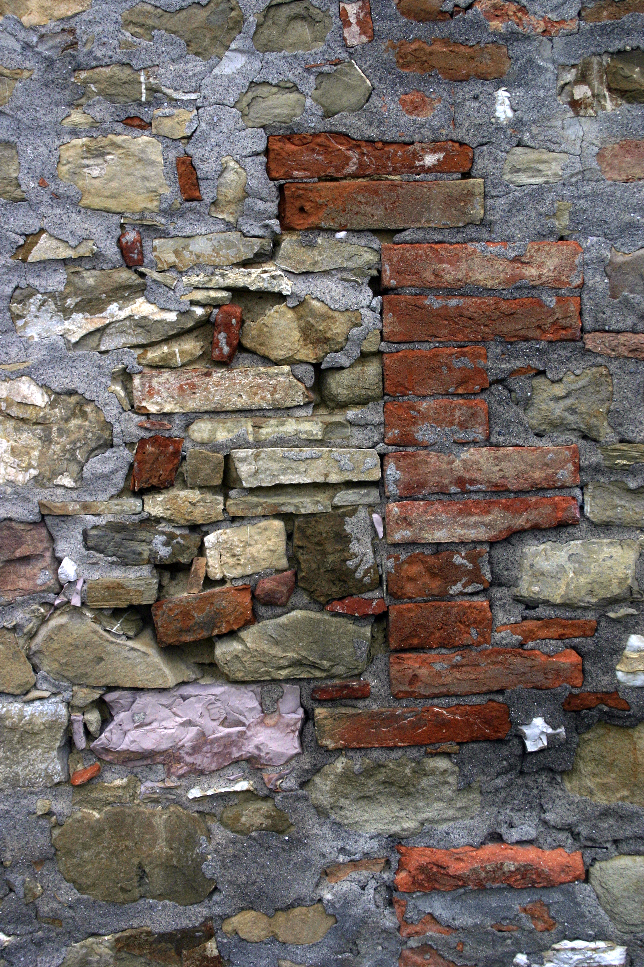 Wall Repair, Corciano, Italy