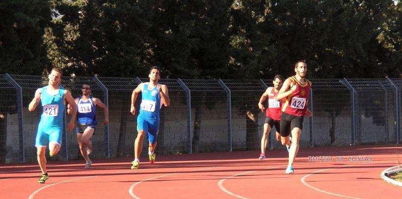 49.01 ο Κώστας Χούντας στα 400μ.