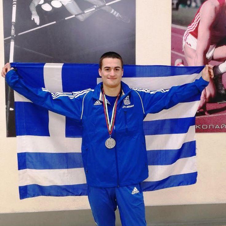 Μετάλλιο στο Βαλκανικό Πρωτάθλημα