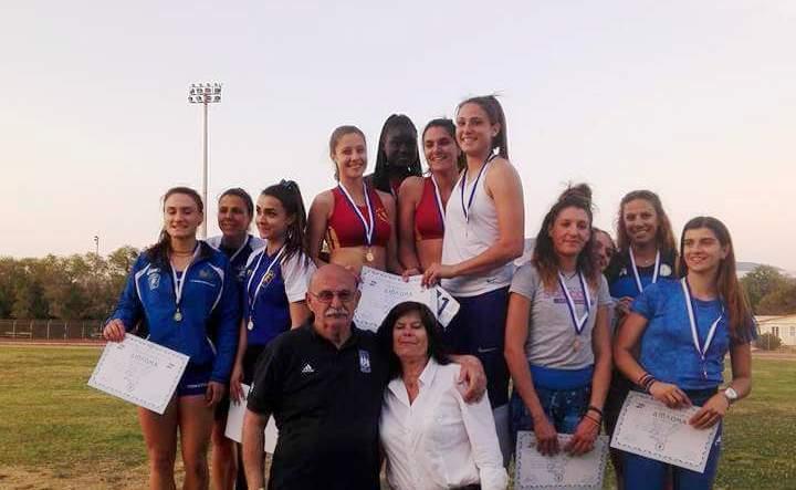 Ρεκόρ Συλλόγου στα 4Χ100 Γυναικών