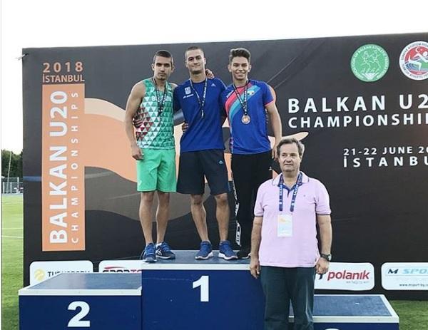 Βαλκανιονίκης ο Σωτήρης Γκαραγκάνης