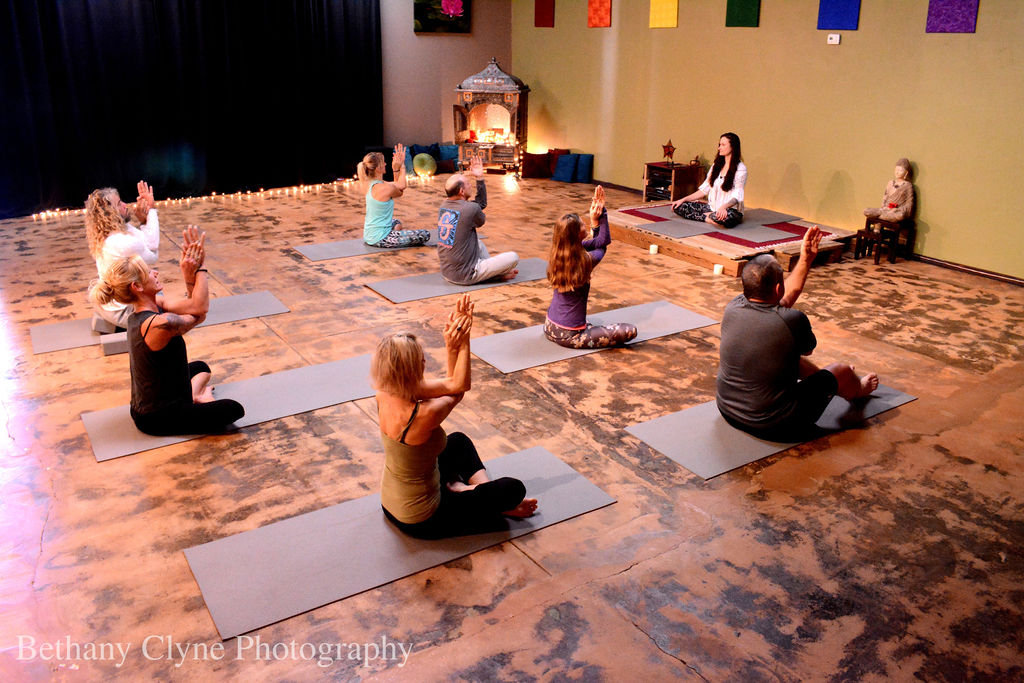 Connected Warrior Yoga