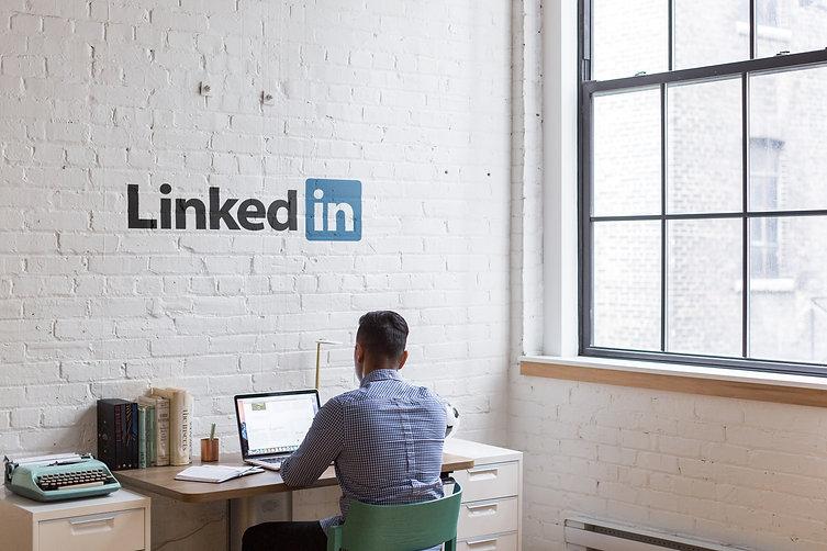 escritório da empresa linkedin