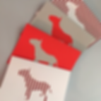 Dye cut pet not cards