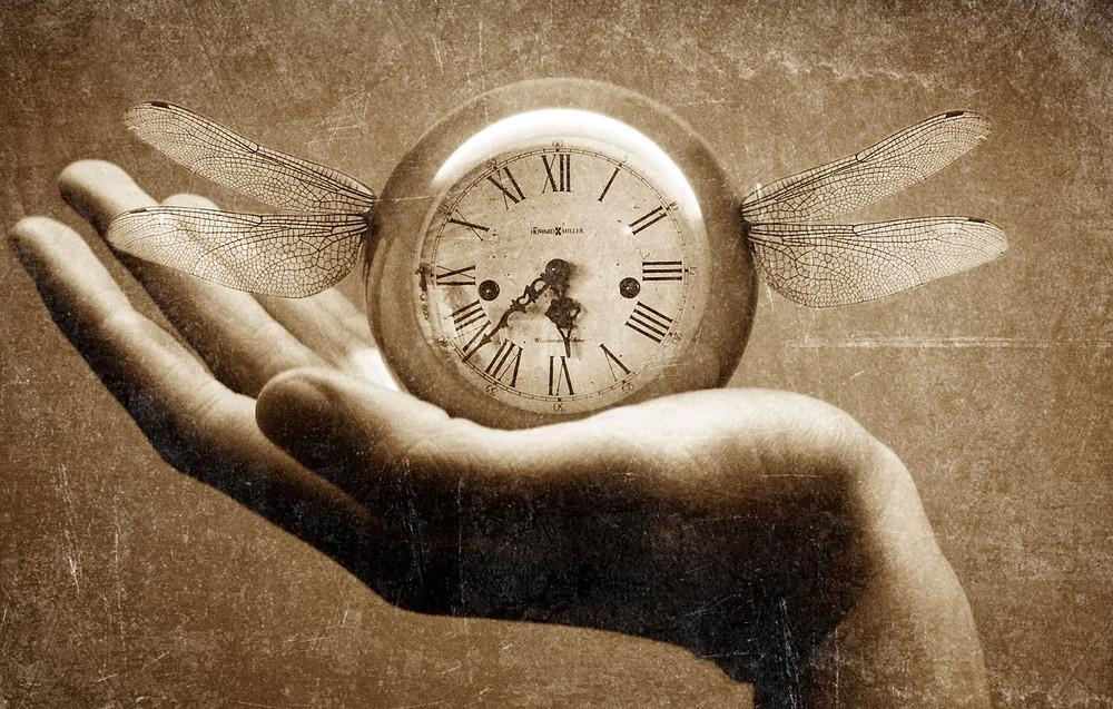 tiempo, volar
