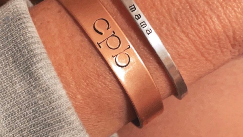 Custom Copper Cuff