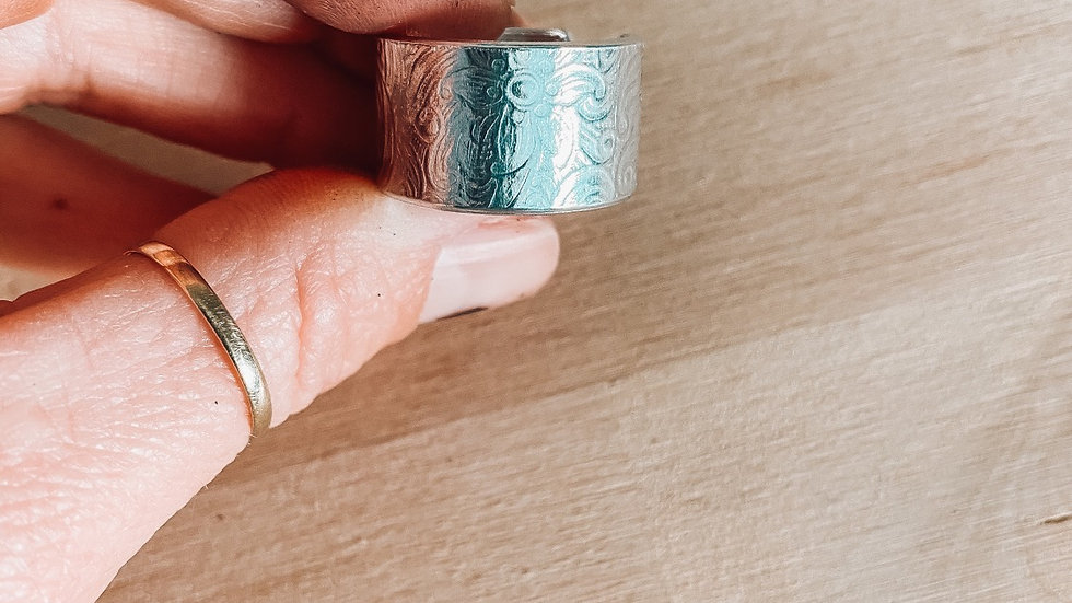 Floral Wide Band