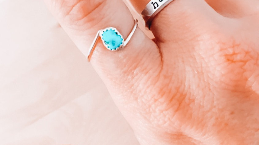 Turquoise High Low Band