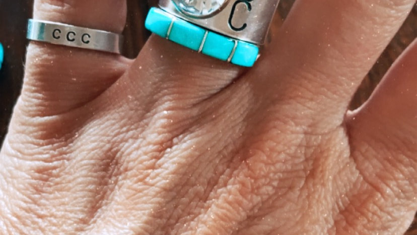 Turquoise Ring Guard
