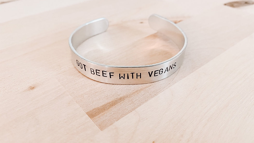 Got Beef with Vegans