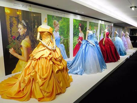 A Disney criou vestidos de noivas inspirados nas suas princesas