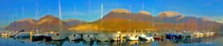 Port de St Jorioz panoramique