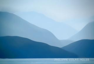 Fond du lac d'Annecy, zoom.