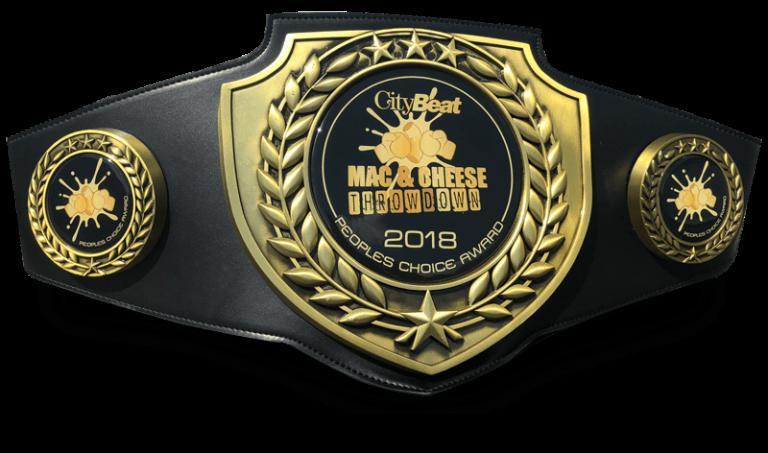 Winner 2018 Mac-N-Cheese Throwdown