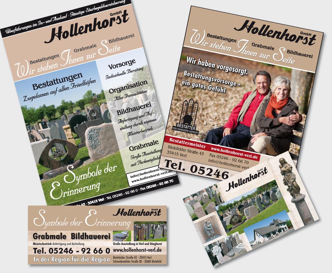 Katalog, Anzeigen & Postkarte