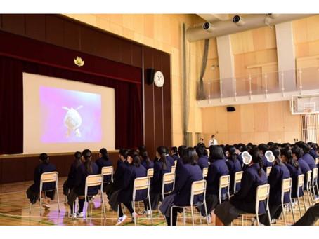 豊島区立巣鴨北中学校にてSDGs講演を行いました🌍✨