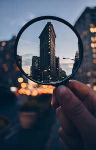 Flatiron Building & Magnifying Glass.jpg