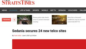 Sedania secures 24 new telco sites