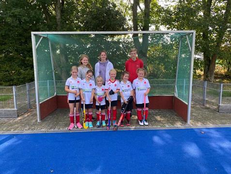 Mädchen D   Erstes Turnier in Münster