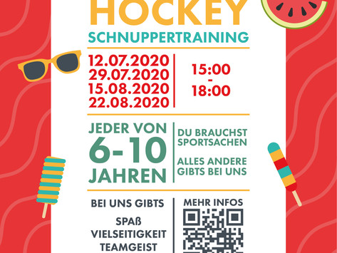 Sommer-Hockey-Schnuppertraining