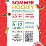 Sommer-Hockey-Schnuppertraining