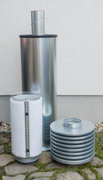 CTU200 Haube mit Filterkorb abgenommen, Filter montiert