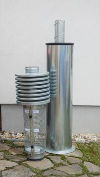 CTU160 Haube mit Filterkorb abgenommen