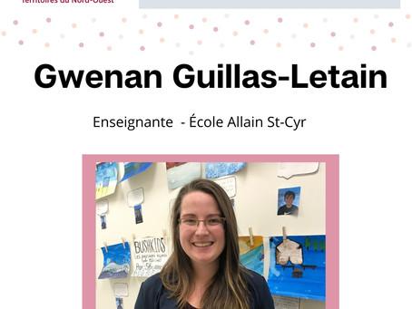 Plein regard sur... Gwenan Guillas-Letain