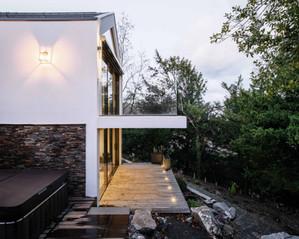 Ajout des photos de la transformation et agrandissement d'une villa individuelle à Nyon
