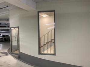 Rénovation du parking de l'Hôtel de la Paix à Lausanne