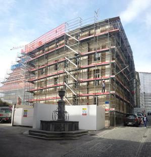 Début des travaux à la Cité, Lausanne