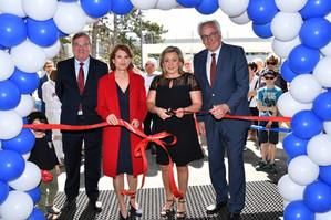 Inauguration officielle sur le site scolaire de la Combe à Prangins