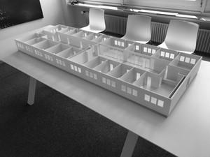 Fabrication d'une maquette XL en Forex