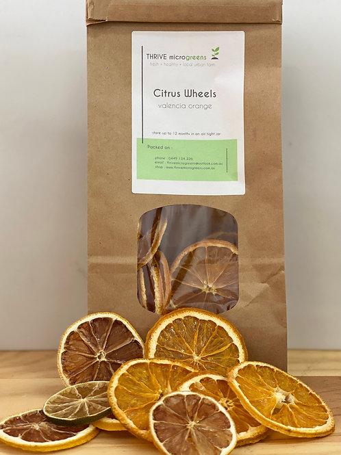 Citrus Wheels Orange, Lemon, Lime  50g (20+pieces)
