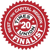 Best of 2020 TImes Union Finalist Stamp.