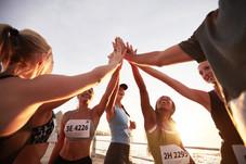 Femmes pratique de la course
