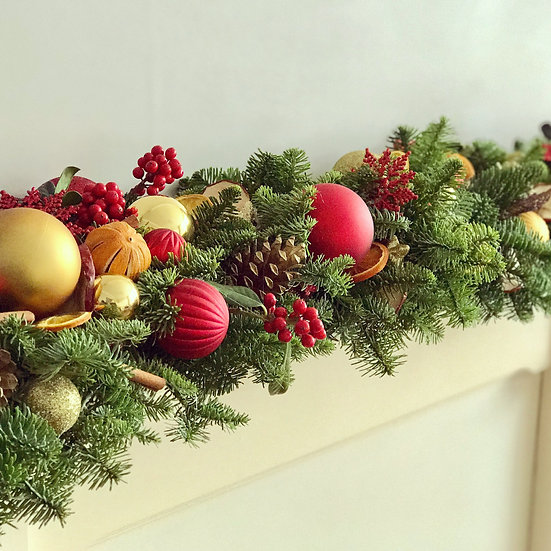 Fresh Christmas Garland