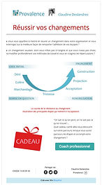 Newsletter Provalence Coaching