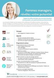 Formation Femmes Managers votre Potentiel