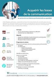 Formation les Bases de la Communication
