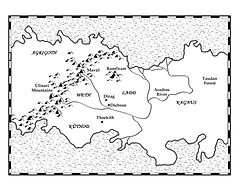 Ramfiram Map: Daemon Rising by John WIlliams